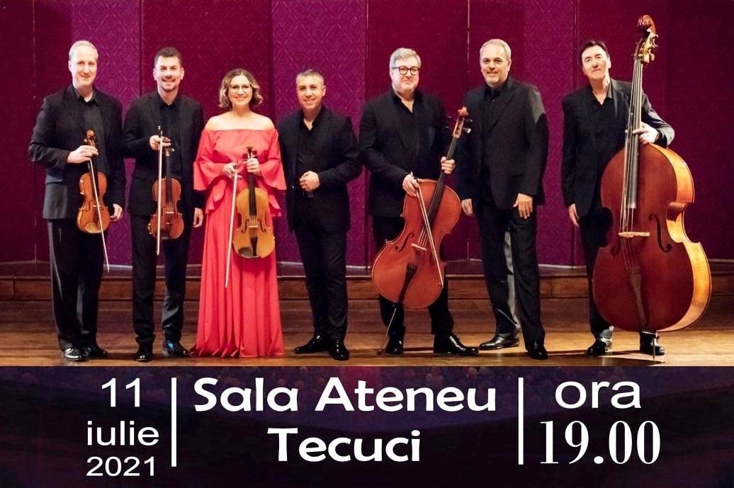 Concert simfonic cameral la Sala Ateneu
