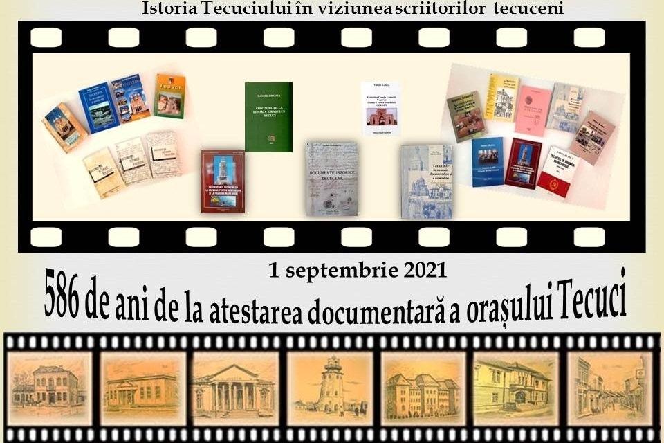 Biblioteca municipală – 586 de ani de la atestarea documentară a orașului Tecuci