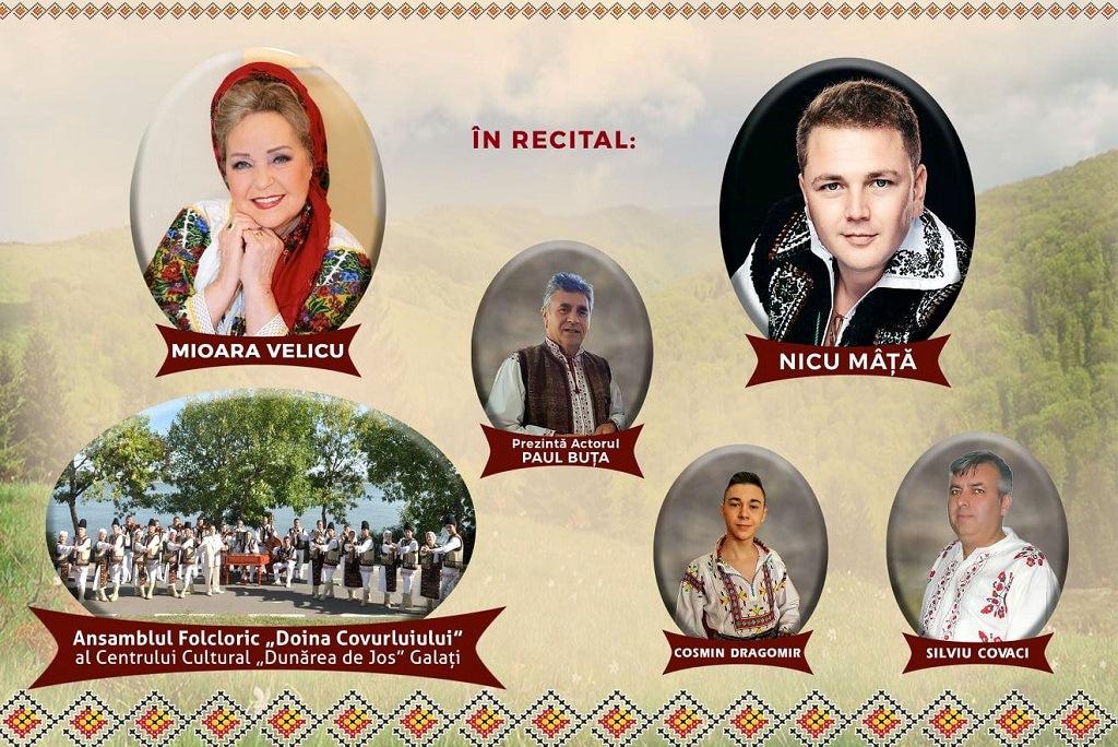 Două zile de Festival folcloric la Tecuci